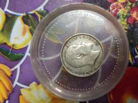 One rupee coin 1904