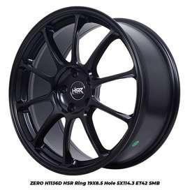 Velg Mobil Grand Vitara SX4 dll ZERO HSR R19X85 H5X114,3 ET42 SMB
