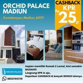 Perumahan Eropa  2 Lantai Orchid Palace Madiun Promo Ramadhan