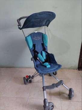 Stroller Cocolatte iCross warna tosca (unisex)