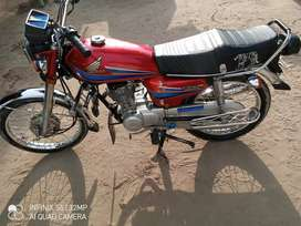 Honda 125 2007 Model Good Condition