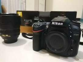 Kamera DSLR Nikon D7200 FULL SET + Lensa Nikon 18-105mm LIKE NEW