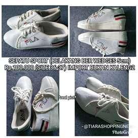 Sepatu FILA size 36-37 (import no kaleng2)