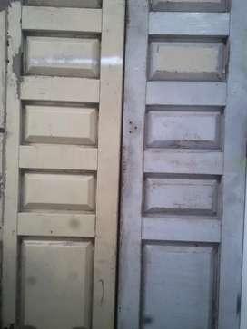 Jual pintu bekas ruko 4 lembar ukuranT270  L65
