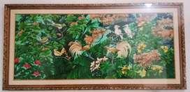 Dijual Cepat Bingkai + Lukisan Dinding