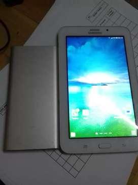 Jual BU Samsung Tab v3 plus powerbank xiomi