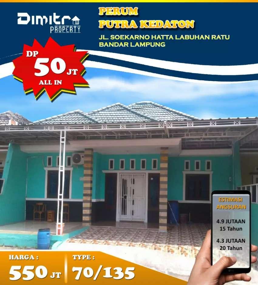 NEW KOMERSIL TYPE 70/135 PINGGIR JALAN UTAMA BY PASS SOEKARNO HATTA 0