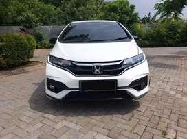 Honda Jazz RS AT 2018 Putih KM Low 30rban Muluss Promo DP Minim