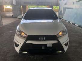 Toyota Yaris S TRD AT 2014. KM 70rb. TDP 12jt