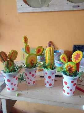 tanaman kaktus mainan
