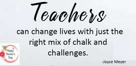 Teacher SCHOOL LEVEL COMPETITIVE EXAMS