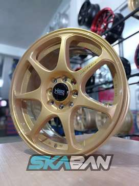 jual hsr wheel sebunsuta ring 16x7 h8(114,3/100) di ska ban pekanbaru