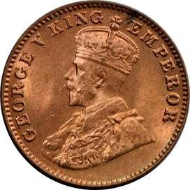 British India George V  King Emperor 1936