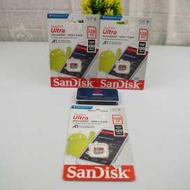micro sd memory card sandisk 128gb sdsqua4 120mbps sdhc