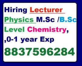 Hiring NDA/SSC Faculty Physics/Chemistry/Maths,GK/GS