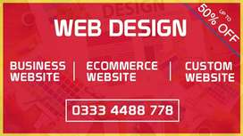 Get professional website for your business at affordable price Karachi