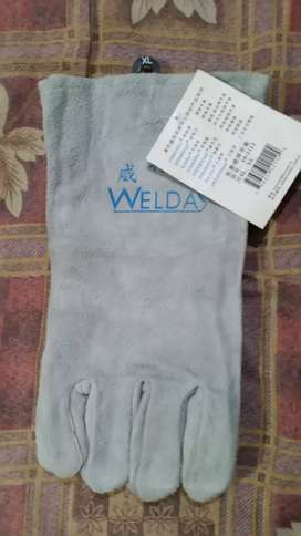 Welding leather gloves made in china