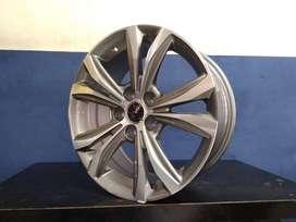 Velg Racing Ertiga Ring 17 model terbaru warna Grey polish