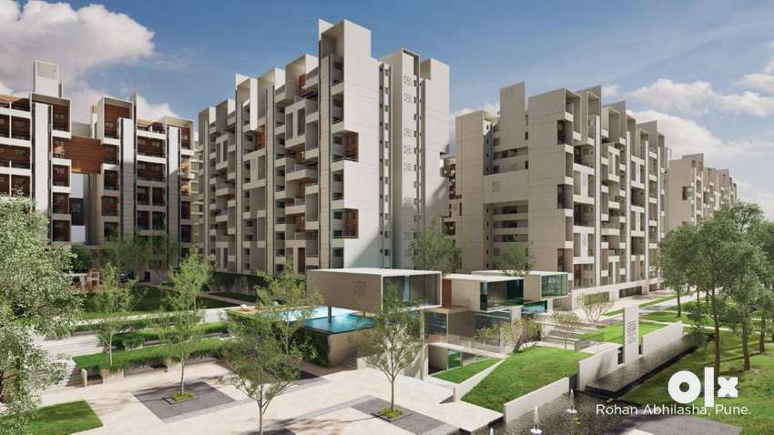 3 BHK Apartment for sale at Rohan Abhilasha at Lohegaon Wagholi road 0