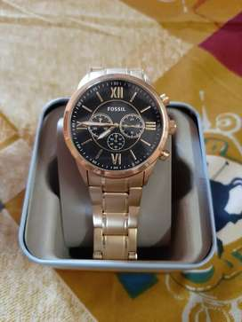 Fossil chronometer watch