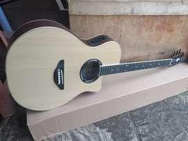 Gitar akustik elektrik new apx sypruce