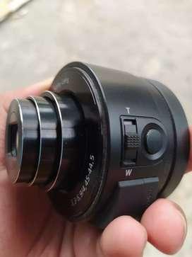 Jual external kamera sony dsc qx10 untuk android ataupun ios