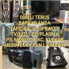 Kami Beli Lagi TV led/LCD dan Spekaer, Compo dan elektronik lainnya