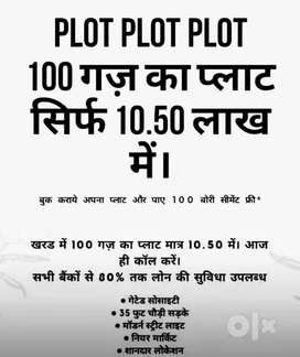 Plot For Sale in just 10.49 lacs at Mohali