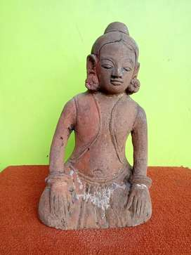 Patung Pria Terakota Majapahit antik sejarah