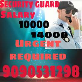 Urjent required Security guard
