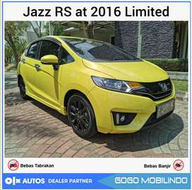 All New Jazz RS AT 2016 Facelift Limited