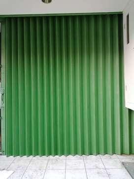 Folding gate rolling door harmonika pintu terbaik di tangerang