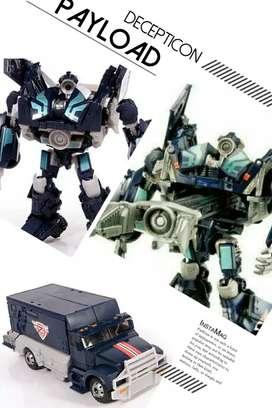 Robot Transformers TFTM Decepticon Payload - Deluxe Class - Ori Takara
