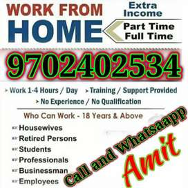 Part Time Home Job monthly 48000