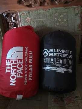 Sleeping bag bulu tebal