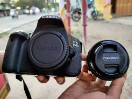 Canon 600d lensa fix fullset