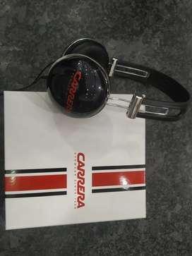 Brand new black Carrera headphones in original packaging., J'Sound