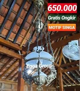 Produksi Dan Grosir Blora Lampu Gantung Antik Klasik Hias Joglo