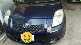 Toyota Vitz 2005 model 2008 import