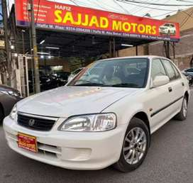 Honda City Exi Automatic Model 2003 Karachi Register