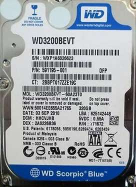320 GB Laptop Hard Disk