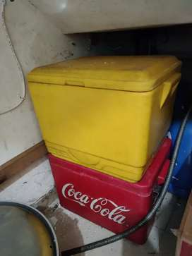 Cool Box 2pcs Cocacola Big Cola Cooler Box Es