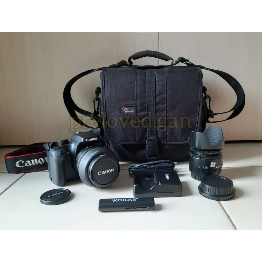 PRELOVED - Canon EOS 1000D