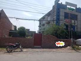 1 canal plot for rent near Aapara society canal view