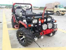 Mr Paink Full modified Jeep ready your booking to