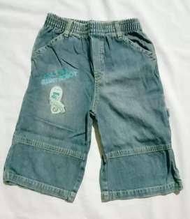 Celana jeans ROBOT anak laki-laki Denim  Usia 4-6 tahun