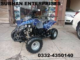 Latest 125cc Raptor Atv Quad 4 Wheels Bke Deliver In All Pakistan