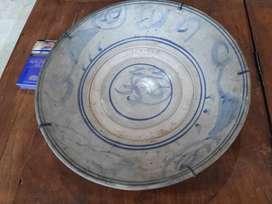 Keramik China Kuno Dinasty piring biru ming swatou 27 cm Part 788