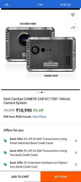 KENT EyeCam (CAR Security Camera