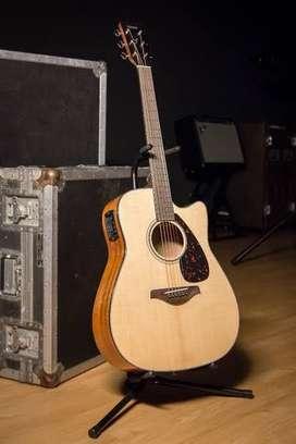 Price - 22,000 Yamaha FGX 800 C Guitar